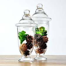 Decorative Glass Jars With Lids The Nordic modern decorative ware American country Louis glass 67