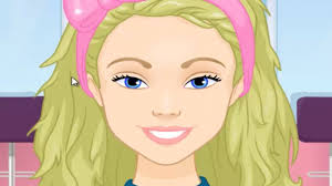 barbie princess barbie new makeup haircut dress up games for s 2018