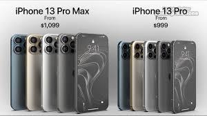 Apple iPhone 13 Pro Max vs iPhone 13 ...