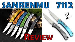 Review of the <b>Sanrenmu</b> 7112 - A Very <b>Lightweight</b>, Sub 3 inch Folder