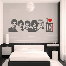 diy black wall sticker one direction poster girls bedroom home decoration pictures removable wall art wallpaper vinyl decals in wall stickers from home  on wall art decor bedroom with diy black wall sticker one direction poster girls bedroom home