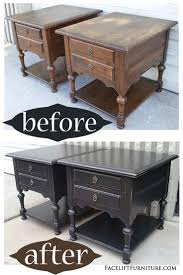 astonishing pinterest refurbished furniture photo. Ideas About Painting End Tables Refurbished Gallery With Painted Furniture Before And After. Astonishing Pinterest Photo