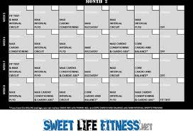 insanity workout schedule