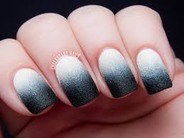 31DC2013 Day 10: Nails Inc. Leather Gradient | Chalkboard Nails ...
