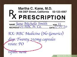 How To Write A Prescription 15 Steps With Pictures Wikihow