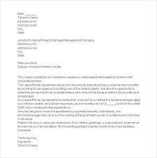 Tenant Complaint Letter To Landlord Sample Org Formal