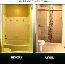 convert stand up shower to tub stand up tub shower for mobile home stalls kits modern convert stand up shower to tub