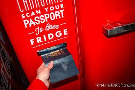Canadian Vending Machine Unique The Molson Canadian Passport Fridge Mariska Richters