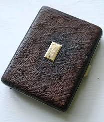 leather cigarette case ostrich leather cigarette case leather cigarette cases for 100s