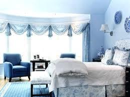 Blue And White Bedroom Interior Design Decorating Ideas Decor Light ...