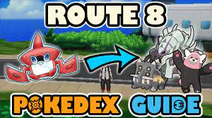 ROUTE 8 COMPLETE POKEDEX GUIDE - Pokemon Sun and Moon - YouTube