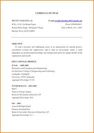 Sample Chronological Resume Mba Resume Samples for Freshers Fresh Example Chronological Resume 96