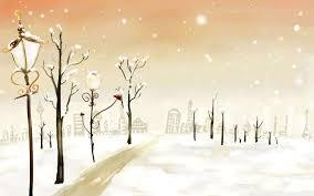 Pretty Winter Desktop Wallpaper