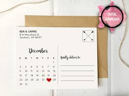 Rustic Save The Date Wedding Postcard Template Save The