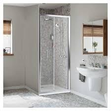 900mm bi fold shower door enclosures