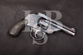 iver johnson arms cycle works small frame hammerless double action only revolver mfd