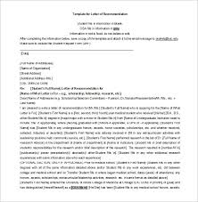 Bunch Ideas of Letter Re mendation For College Scholarship Examples About Letter Template