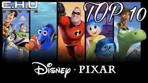 Top 10 phim hoạt hình của DISNEY