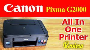 Canon Pixma Printer Comparison Chart Canon Pixma G2000 All In One Printer Review Speed Printing Test Color Quality Check