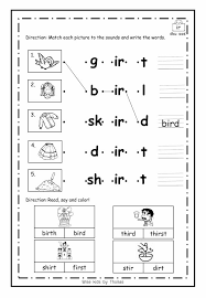 Great for small group instruction or for literacy centers! Free Ir Er Ur Worksheets Phonics Wise Kids By Teacher Thomas Facebook