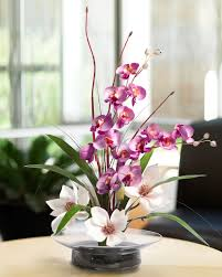 Small Picture How To Make Artificial Flower Arrangements For Home Decor Ideas