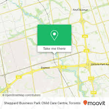 How To Get To Sheppard Business Park Child Care Centre In