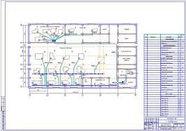 Курсовые и дипломные проекты по электроснабжению Чертежи РУ Курсовой проект техникум Электроснабжение цеха механической обработки деталей