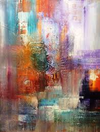 artfinder layers abstract acrylic painting 2016 by mo tuncay overview handmade item dimensions