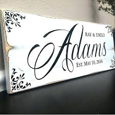 Decorative Name Signs