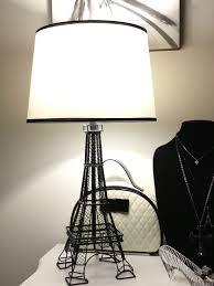eiffel tower desk lamp shade