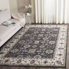 safavieh lyndhurst traditional oriental grey cream rug 6 grey