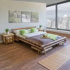 Homestyle4u 32 Bambusbett 140x200 Cm Bettgestell Mit Lattenrost