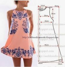 Simple Dress Pattern For Beginners Magnificent VESTIDO ROSA CLARO Sewing Projects Pinterest Simple Dresses