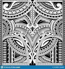 полинезийский орнамент соответствующий для татуировки рукава