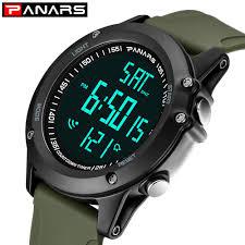 PANARS fashion sports electronic <b>watch waterproof personality</b> ...