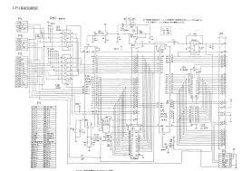 6502 architecture. family computer schematic 6502 architecture