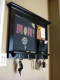 wall organizer with cork board
