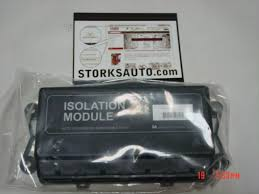 isolation module port western fisher truck side light harness 26400 isolation module 4 port western fisher truck side light harness