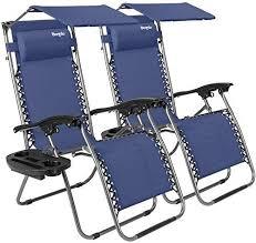 new bonnlo 2 pcs zero gravity chair