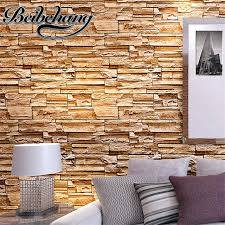 Small Picture Aliexpresscom Buy beibehang Simulated Brick PVC Wallpaper