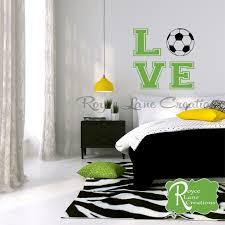 Soccer Bedroom Decor Soccer Ball Soccer Wall Decal For Girls Room Teen Girl Bedroom