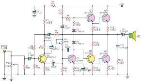 watt audio amplifier using transistors amplifiers 140 watt audio amplifier using 6 transistors