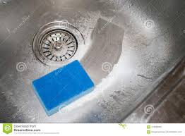 Cleaning Kitchen Sink How To Clean The Stainless Steel Sink Wit
