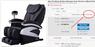 massage chair ebay. ebay description template massage chair ebay