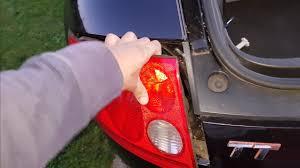Audi Rear Light Bulb How To Change Brake Light On Audi Mk1 Tt