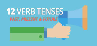 tenses all 12 verb tenses in english past present and future verb