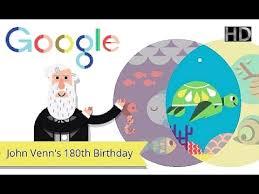 John Venn Venn Diagram Hd John Venn S 180th Birthday Animated Interactive Google Doodle 2014 8 4 W Music