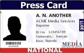 You Kenya Need Media All To In About Accreditation Press Card Know