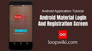 Android Material Design Login Form Xml Ui Design Android Material Login And Registration Screen Design Loopwiki