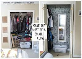 closet bedroom ideas. Make The Most Out Of A Small Closet, Bedroom Ideas, Organizing, Closet Ideas